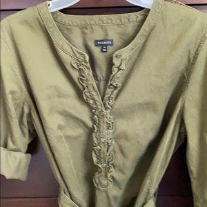 Talbots Olive Denim Dress